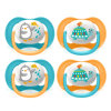 Philips Avent Sucette ultra air SCF080/07 collection Animals 6-18 m tortue/pingouin pack double
