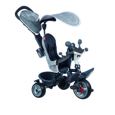 Dreirad - Smoby Baby Driver Komfort grau - Onlineshop
