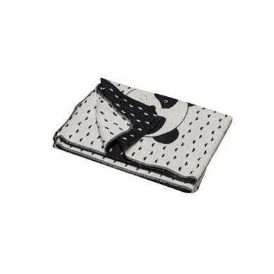 Kindertextilien - DAVID FUSSENEGGER Kinderdecke Pandabär rohweiß 120cm  - Onlineshop Babymarkt