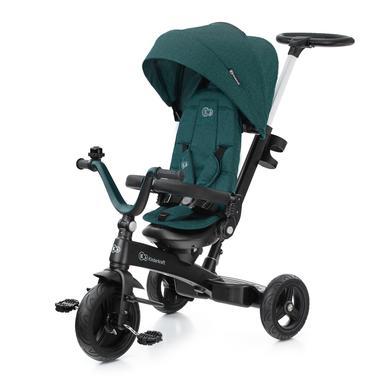 Kinderkraft 5-in-1 driewieler TWIPPER - groen