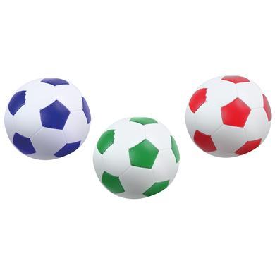 LENA ® Měkké fotbalové míče sada 3 barevných 10 cm