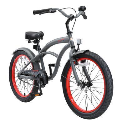 Kinderfahrrad - bikestar Kinderfahrrad Cruiser 20 Grau - Onlineshop