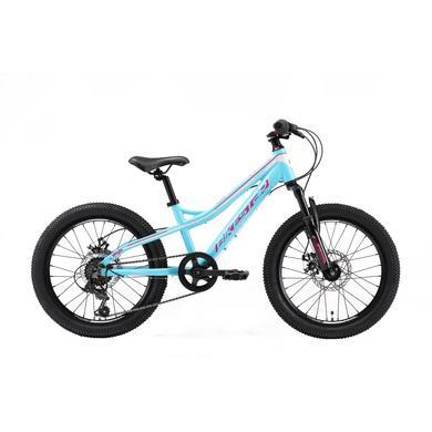 Kinderfahrrad - bikestar Kinderfahrrad Alu Hardtail Mountainbike 20 Türkis - Onlineshop