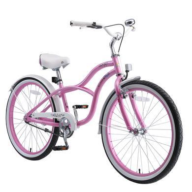 Kinderfahrrad - bikestar Kinderfahrrad 24 Cruiser Pink - Onlineshop