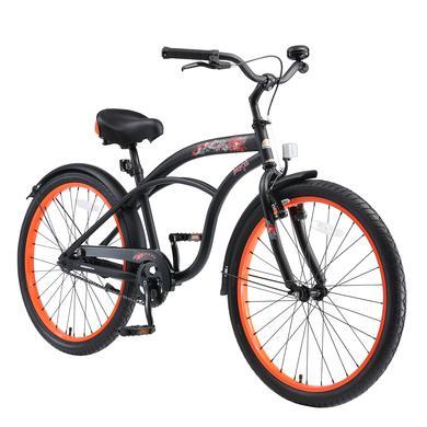 Kinderfahrrad - bikestar Kinderfahrrad 24 Cruiser Schwarz - Onlineshop