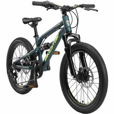 Kinderfahrrad - BIKESTAR Alu Kinder Jugend Mountainbike 20 Zoll Räder Petrol - Onlineshop