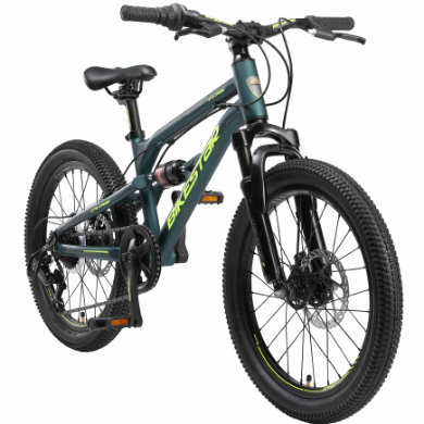 BIKESTAR Alu dětské kolo pro mládež Mountain / 20 palcová kola / Petrol