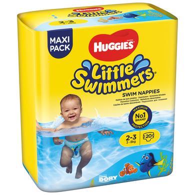 Image of HUGGIES Zwemluier Little Zwemmers maat 2-3 5 x 20 stuks