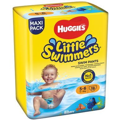 Image of HUGGIES Zwemluier Little Zwemmers maat 5-6 4 x 19 stuks