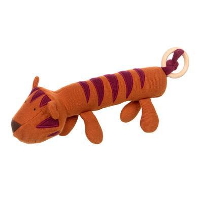 sigikid ® Gebreid grijpspeelgoed Tiger orange