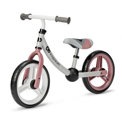 Laufrad - Kinderkraft Balance Laufrad 2WAY NEXT, light pink - Onlineshop