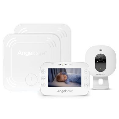 Image of Angelcare® SmartSensor Pro 3: 3-in-1 Baby-Überwachung Video mit Audio und Bewegung mit zwei Wireless Sensormatten