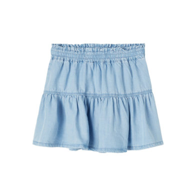 Minigirlroeckekleider - name it Rock Nmfbecky Light Blue Denim - Onlineshop Babymarkt