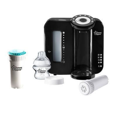 Tommee Tippee Kondicionér v láhvi s přídavným filtrem Perfect-Prep v černé barvě