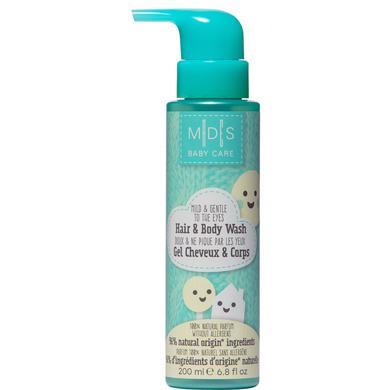 Image of MADES BABY CARE, Haar & Körper Shampoo, mild und sanft für die Augen, 200 ml