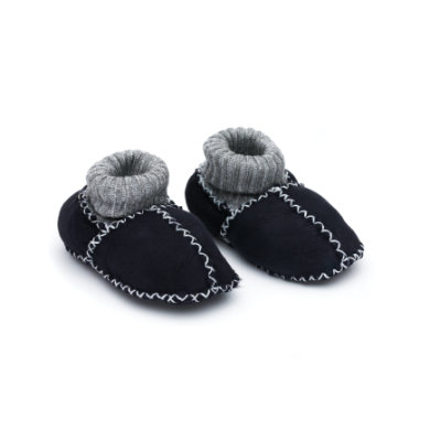 fillikid Babylammfell Schuhe marine
