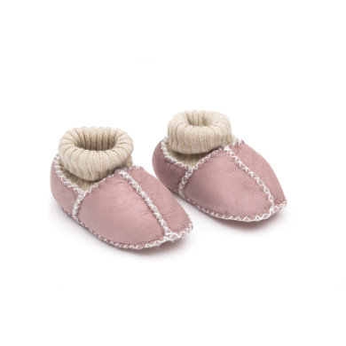 fillikid Babylammfell Schuhe rosa