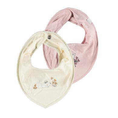 name it Driehoek sjaals 2-pack Nbfyvettekirsten White muts Grijs