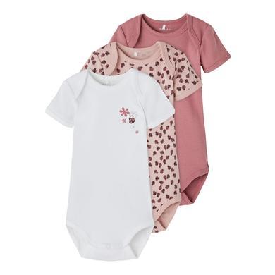 Babywaesche - name it Body 3er Pack Deco Rose - Onlineshop Babymarkt