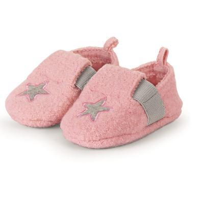Babyschuhe - Sterntale Baby–Krabbelschuh rosa - Onlineshop Babymarkt