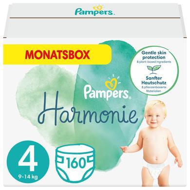 Image of Pampers Harmonie maat 4 Maxi 9 - 14 kg maandbox 160 luiers
