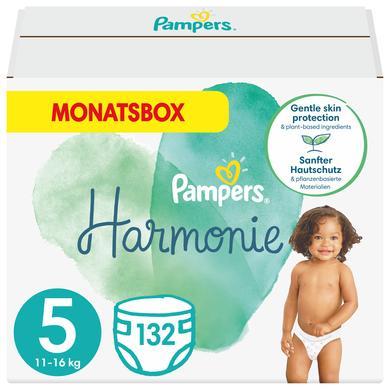 Image of Pampers Harmonie maat 5 Junior 11+ kg maandbox 132 luiers