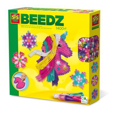SES Creativ e® BEEDZ Nažehlovací korálky - Jednorožec s hřívou