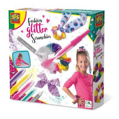 SES Creativ e® Fashion Glitter Scrunchies