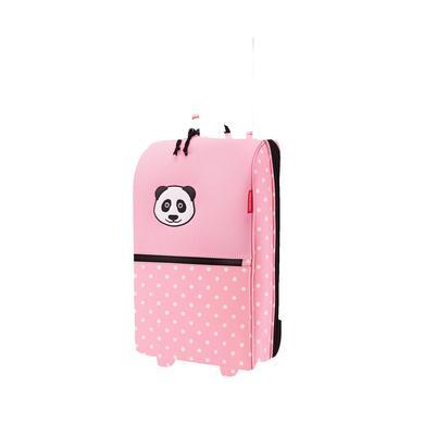 Kinderkoffer - reisenthel® trolley XS kids panda, dots pink - Onlineshop Babymarkt