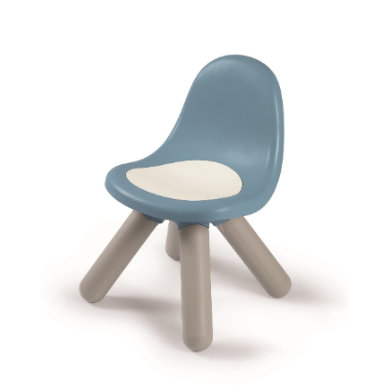 Sitzmöbel - Smoby Kid Stuhl, sturmblau  - Onlineshop Babymarkt
