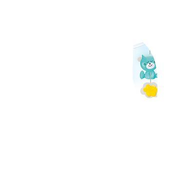 Infantino 3 in 1 muziekmobiel met droomlamp, kleurrijk