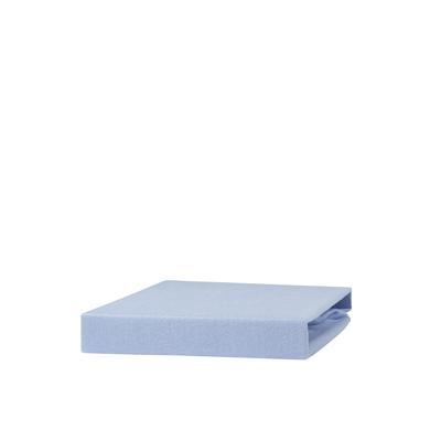 urra Jersey Spannbettlaken 40 x 90 cm blau