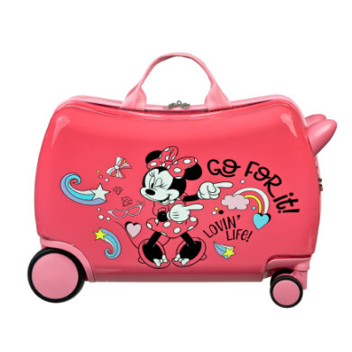 Kinderkoffer - Scooli Ride–on Trolley Minnie Mouse - Onlineshop Babymarkt