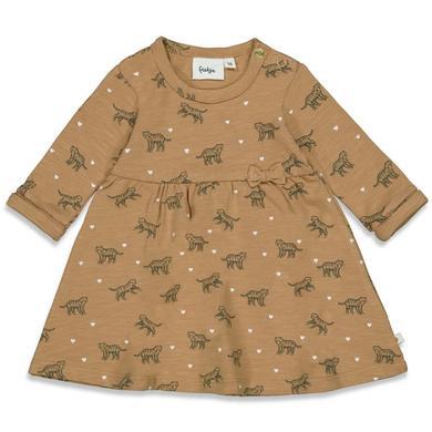 Minigirlroeckekleider - Feetje Kleid Wild At Heart Camel - Onlineshop Babymarkt