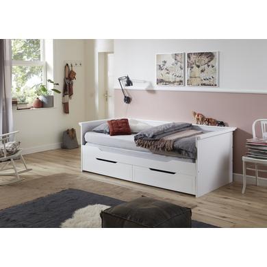 Kinderbetten - Relita Kojenbett Lina weiß  - Onlineshop Babymarkt