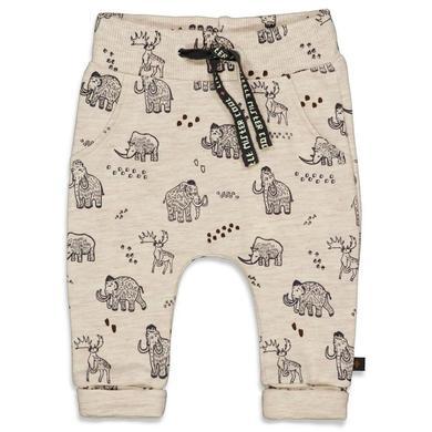 Babyhosen - Feetje Sweathose Cool Adventure Offwhite Melange - Onlineshop Babymarkt