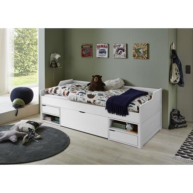 Kinderbetten - Relita Kojenbett Levi weiß  - Onlineshop Babymarkt