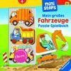 Ravensburger ministeps Mein großes Fahrzeuge Puzzle-Spielbuch