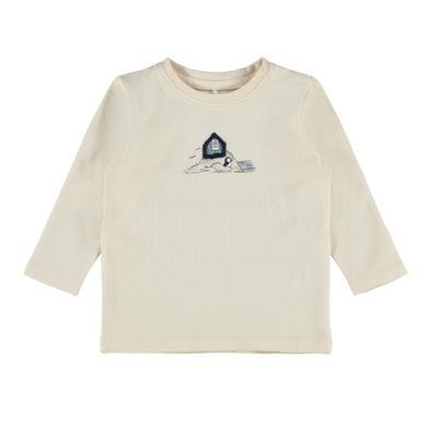 Babyoberteile - name it Langarmshirt Nbmoscar Whitecap Gray - Onlineshop Babymarkt