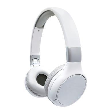 Image of LEXIBOOK Acoustix Bluetooth® 2 in 1 faltbare Kabelkopfhörer, weiß/ silber