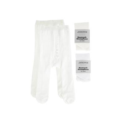 JACKY Strumpfhose 2er Pack weiß gemischt