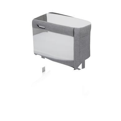 Kinderbetten - Joie Beistellbett Roomie Gray Flannel  - Onlineshop Babymarkt