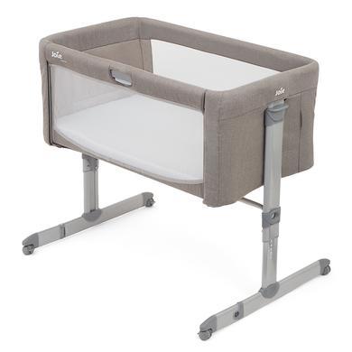 Kinderbetten - Joie Beistellbett Roomie Walnut  - Onlineshop Babymarkt